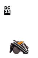 Dyson DC23 Vacuum Cleaner Parts & accessories
