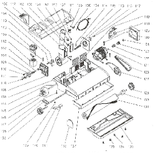 Lindhaus HF6 Power Head Vacuum Cleaner Parts & Accessories