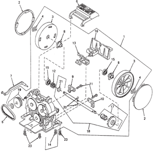 Kirby Generation 5 Transmission Schematic
