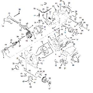 Kirby Heritage II Vacuum Cleaner Motor Parts