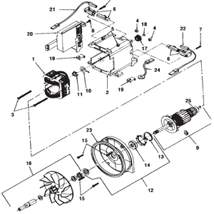 Kirby Generation 5 Motor Schematic