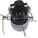 """57 Lindhaus HCP 12"""" VACUUM MOTOR 120/60 W. 750 51350080"""