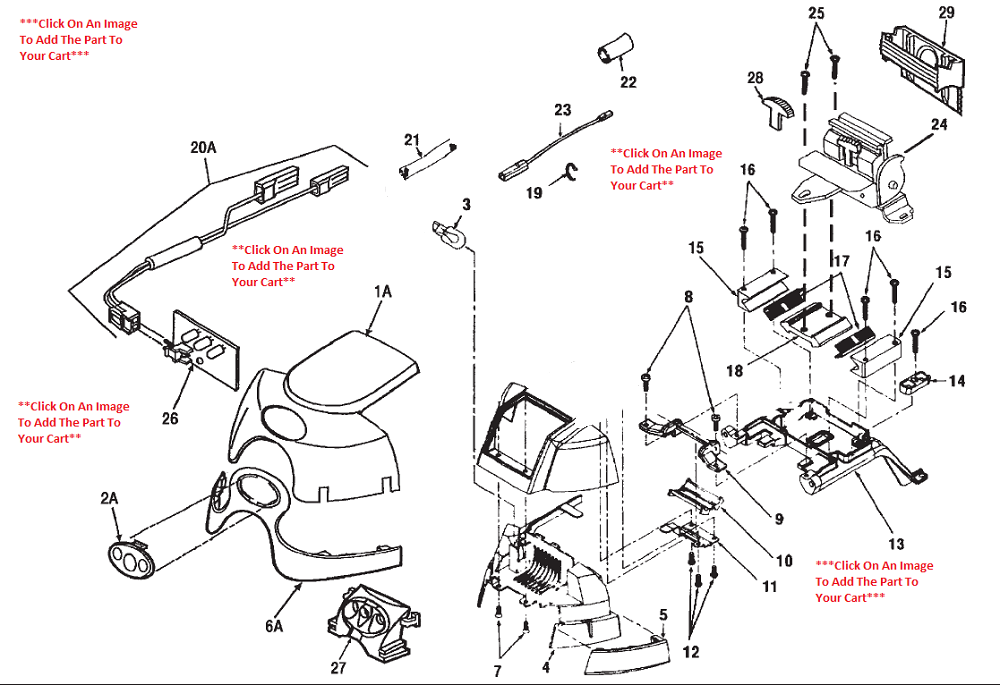Kirby Sentria Headlight & Hood Schematic  PlatinumVacuum -> Kuchnia Kaflowa Schemat Budowy