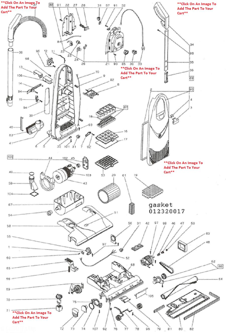 Lindhaus Diamante Vacuum Cleaner Parts And Accessories